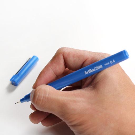 Bút lông kim nhiều màu